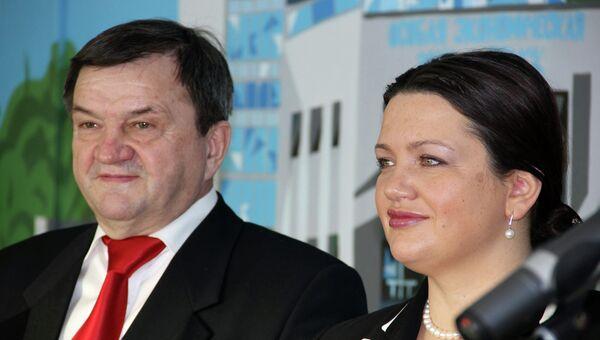 Анатолий Карлов и Наталья Рязанцева