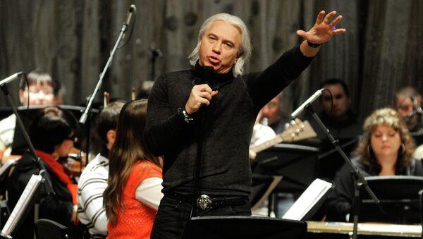 Дмитрий Хворостовский выступает в Красноярске