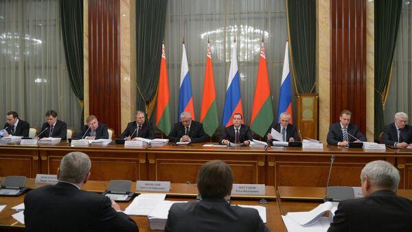 Заседание Совета министров Союзного государства. Архивное фото