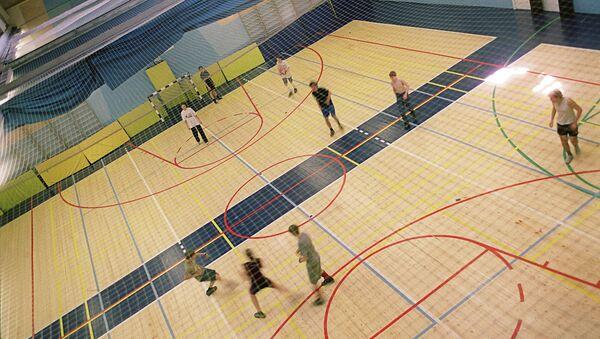 Спортивный зал. Архивное фото.