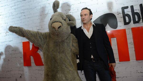 Актер Винсент Перес перед премьерой фильма Быстрее, чем кролики