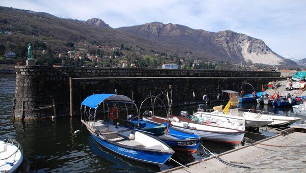 Озеро Лаго-Маджоре в Италии
