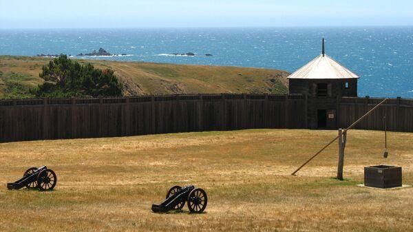 Бывшее русское поселение Форт-Росс в Калифорнии