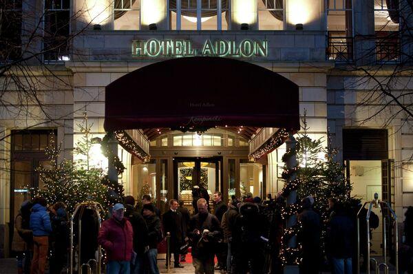 Берлинский отель Adlon, в котором поселился Михаил Ходорковский