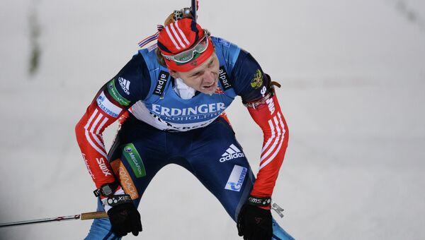 Российский биатлонист Иван Черезов. Архивное фото