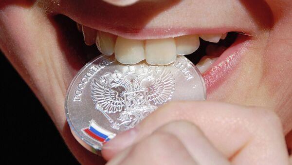 Серебряная медаль выпускницы средней школы