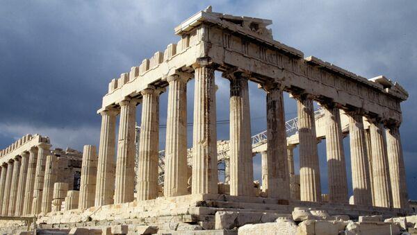 Руины Парфенона на Акрополисе. Архивное фото