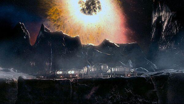 Кадр из сериала Доктор Кто (2 сезон, 8 эпизод Невозможная планета)