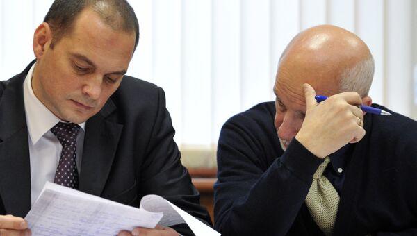 Рассмотрение уголовного дела в отношении депутата Госдумы РФ Константина Ширшова. Архивное фото