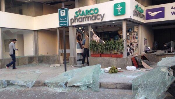 Мощный взрыв прогремел в центре Бейрута