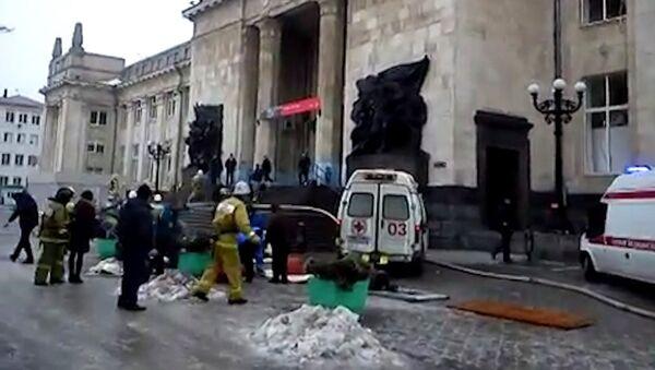 Первые кадры с места теракта на вокзале в Волгограде