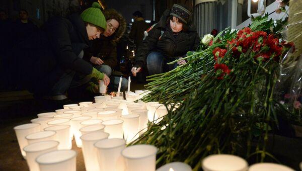 Акция памяти по погибшим в терактах в Волгограде. Архивное фото