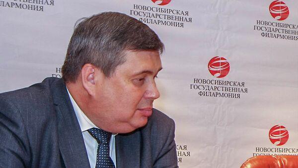 Директор Новосибирской филармонии Александр Назимко, архивное фото