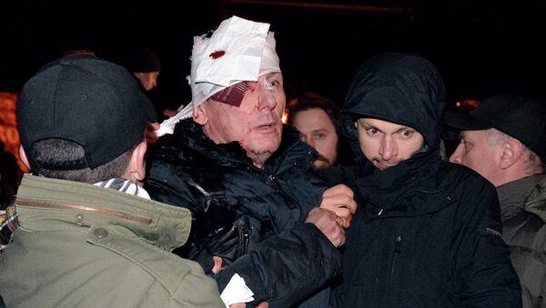 Бывший глава МВД Украины Юрий Луценко избит в Киеве. Архивное фото