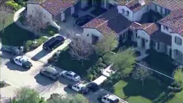Дом певца Джастина Бибера в калифорнийском городе Калабасас