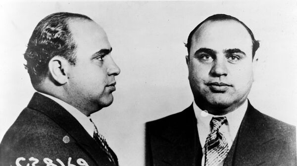 Американский гангстер Аль Капоне