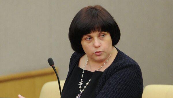 Елена Афанасьева. Архивное фото