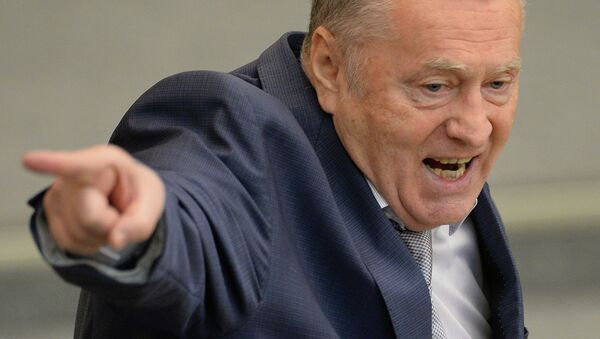 Лидер фракции ЛДПР Владимир Жириновский. Архивное фото
