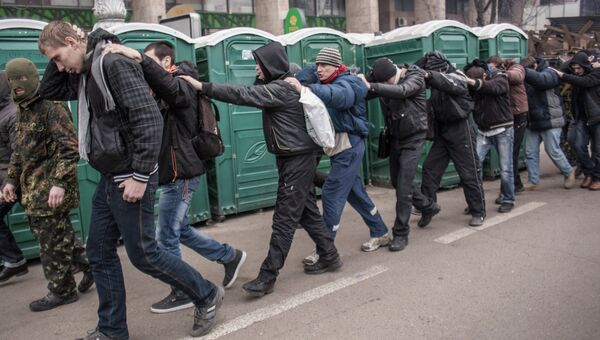 Ситуация в Киеве, фото с места событий