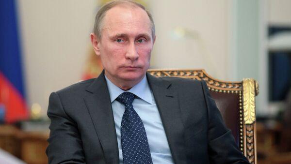 В.Путин, архивное фото