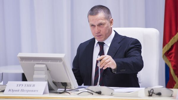 Полпред президента в ДФО Юрий Трутнев. Архивное фото