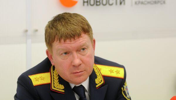 Руководитель ГСУСК по Красноярскому краю Игорь Напалков