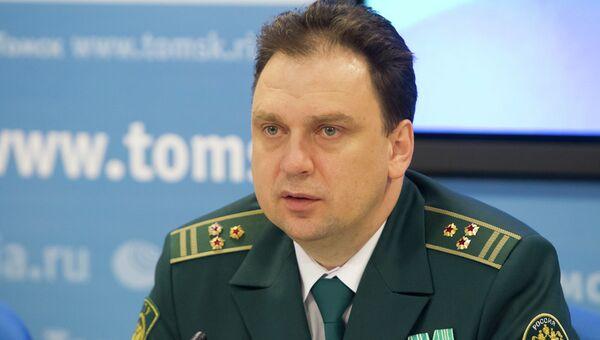 Александр Сковородников, первый заместитель начальника Томской таможни, событийное фото