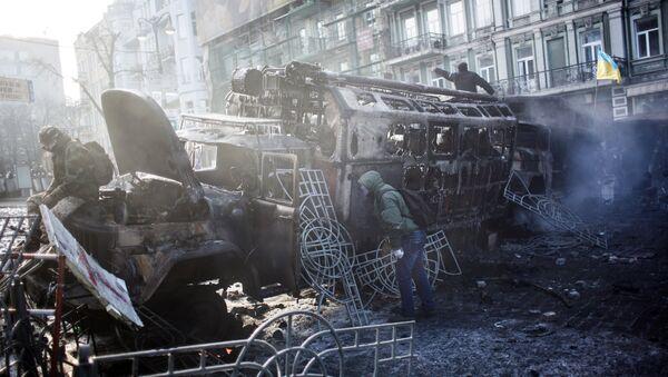 Беспорядки на Украине. Архивное фото