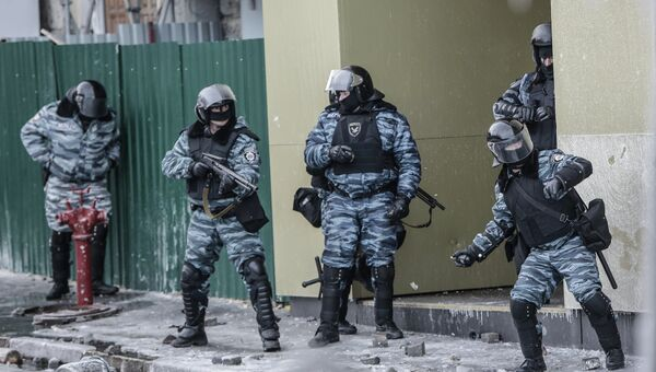 Беспорядки в Киеве. Архивное фото
