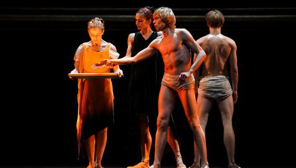Гастроли Берлинского балета. Сцена из балета Караваджо