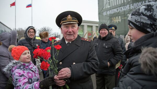 Парад, посвященный 70-летию освобождения Ленинграда от блокады