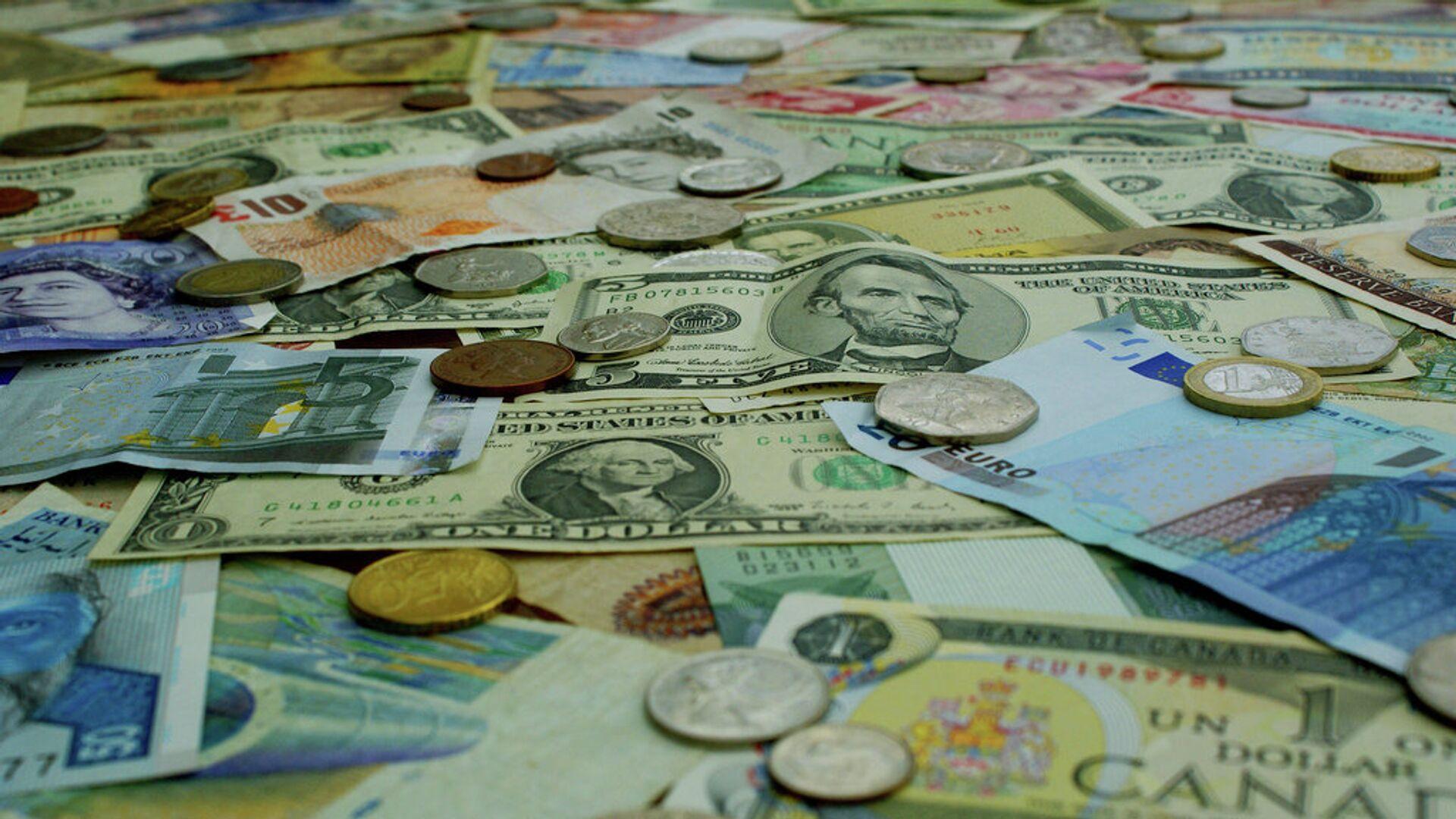 Деньги разных стран - РИА Новости, 1920, 02.07.2021