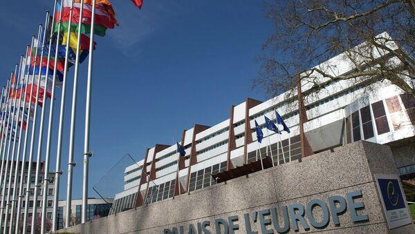 Здание ПАСЕ в Страсбурге. Архивное фото
