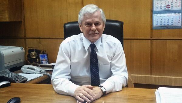 Генеральный директор ОАО Невское ПКБ Сергей Власов . Архивное фото
