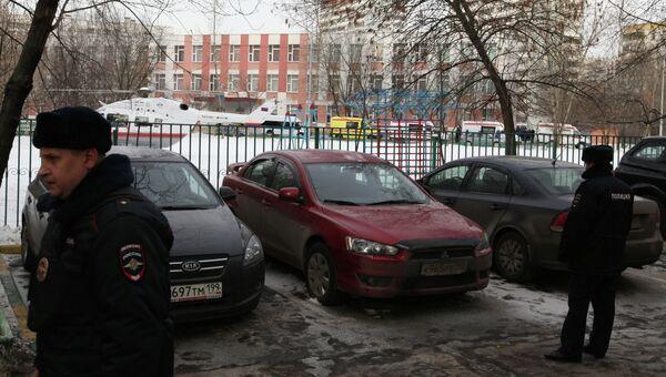 Стрельба в московской школе. Архивное фото