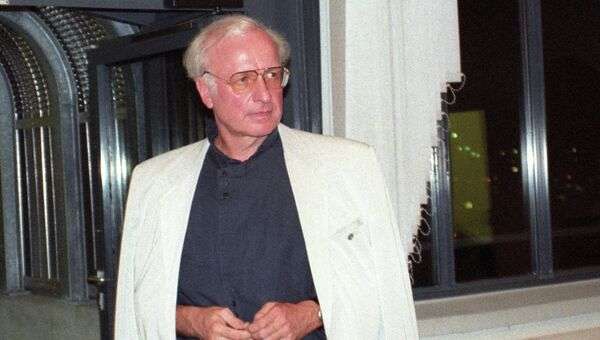 Немецкий дирижёр Герд Альбрехт, архивное фото