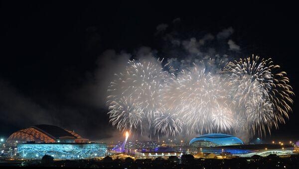 Церемония открытия XXII зимних Олимпийских игр. Фото с места события