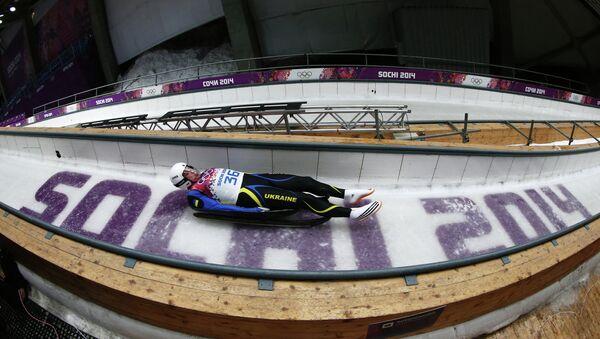 Олимпиада 2014. Санный спорт. Архивное фото