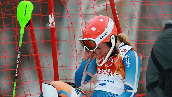Олимпиада 2014. Горнолыжный спорт. Женщины. Суперкомбинация