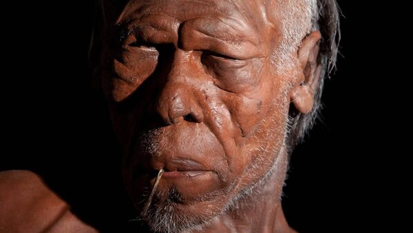 Модель древнего Homo Sapiens