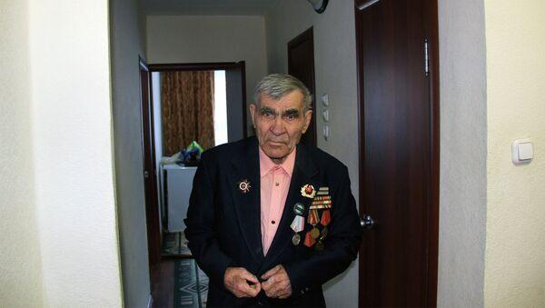 Василий Волошин – ветеран Великой Отечественной войны, город Кедровый
