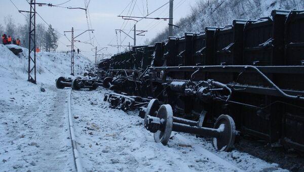 Сход вагонов в Челябинской области