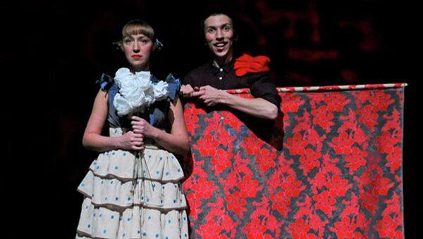 Экспериментальный российско-французский спектакль Они поженились, и у них было много...