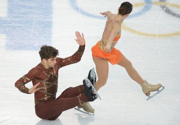 Олимпиада 2014. Фигурное катание. Пары. Короткая программа
