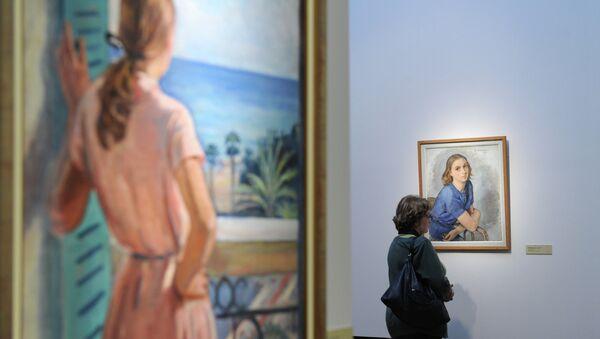 Открытие выставки Зинаида Серебрякова. Парижский период