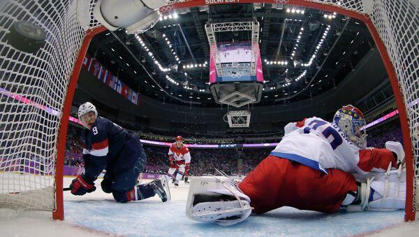 Олимпиада 2014. Хоккей. Мужчины. Россия - США