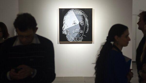 Открытие выставки Энди Уорхол: Десять знаменитых евреев ХХ века
