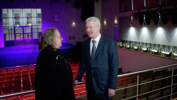 Мэр Москвы Сергей Собянин посетил театр А.Градского