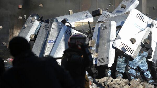 Обострение ситуации на Украине, фото с места событий
