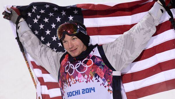Дэвид Уайз (США), завоевавший золотую медаль. Фото с места события